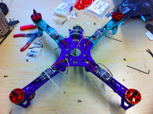 Quadcopter assembled
